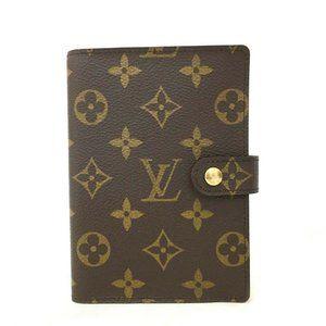 Auth Louis Vuitton Agenda Pm Notebook #8001X85